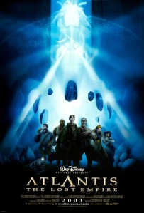 Atlantis: The Lost Empire theatrical poster