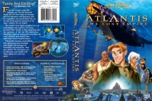 DVD cover of Atlantis: The Lost Empire